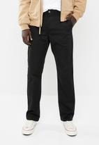RVCA - Weekend stretch pants - black