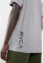 RVCA - Va vent short sleeve top-  grey