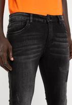 Sergeant Pepper - Clyde denim jeans - black