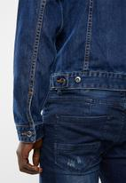Superbalist - San Fran denim trucker jacket - blue