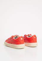 PUMA - Puma basket speckle infants - coral