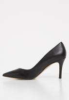 ALDO - Coroniti leather heel - black