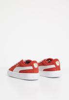 PUMA - Puma Suede Infants - red & white