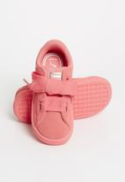 PUMA - Suede Heart Sneaker Infants - pink