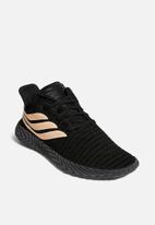 adidas Originals - Sobakov - core black/clear orange/core black