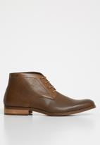 Anton Fabi - Pulido lace up boot- brown