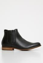 Anton Fabi - Pulido  zip up boot - black