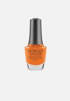 Morgan Taylor - You've Got Tan-Gerine Lines - Orange Neon Crème