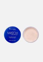 Rimmel - RIMMEL Match Perfect Loose Powder - transparent
