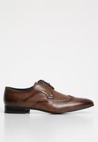 Gino Paoli - Ted wingcap brogue - brown