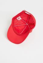 KAPPA - Apennine omni golf cap - red