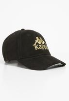 KAPPA - Marmolada suede snapback - black
