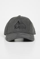 KAPPA - Marmolada suede snapback - grey