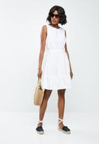 Jacqueline de Yong - Damilla dress - white