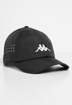 KAPPA - Apennine omni golf cap - black