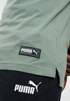 PUMA - Athletics tee - green