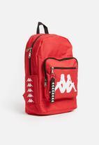 KAPPA - Maggiore basic omni back pack - red