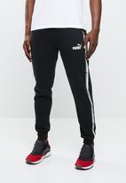 PUMA - Tape pants - black