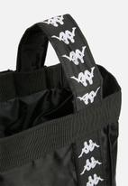 KAPPA - Trasimeno banda strap bag - black