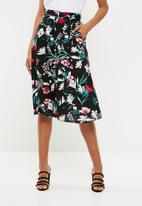 Superbalist - A-line midi  skirt - multi