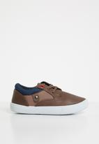 SOVIET - Omaha lace up sneaker - brown