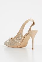 Sissy Boy - Embellished slingback heels - neutral