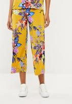 Superbalist - Plisse culotte pants - multi