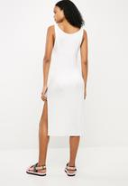 Superbalist - Sleeveless midi cover up - white