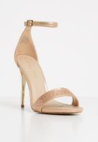 Sissy Boy - Ankle strap heels - rose gold