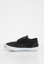 SOVIET - Omaha lace up sneaker - black