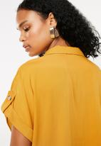 Superbalist - Utility shirt - yellow