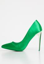 Sissy Boy - Satin stiletto heels - green