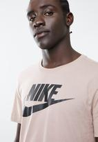 Nike - Icon futura tee - taupe