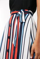 Superbalist - A-line midi skirt - multi