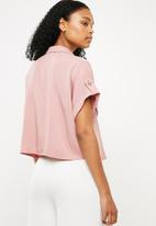 Superbalist - Utility shirt - pink