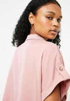 Superbalist - Utility shirt - pink