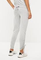 Superbalist - Jogger pants with gathers - grey