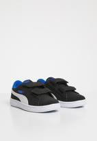 PUMA - Smash v2 buck sneaker - black