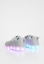 POP CANDY - Light up velcro strap sneaker - grey