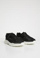 POP CANDY - Mesh lo-top sneaker - black