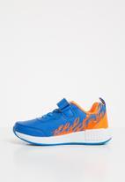 POP CANDY - Printed velcro strap sneaker - blue
