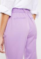 Superbalist - Suit trouser with turn up cuff - Lilac