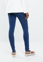 Missguided - Vice highwaisted skinny jeans - blue