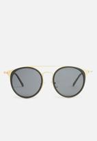 Superbalist - Jimi sunglasses - gold & black