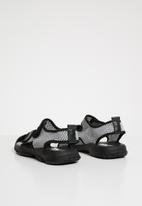 POP CANDY - Mesh cage sandal - grey