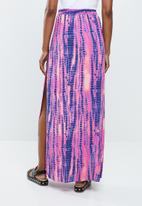 Missguided - Tie dye maxi skirt - multi