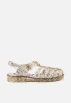 Cotton On - Amalfi jelly sandal - gold