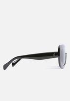 Superbalist - Jason oversized retro sunglasses - black