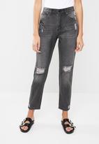 Superbalist - Mom jeans - black
