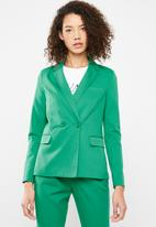 Superbalist - Double breasted suit jacket - green